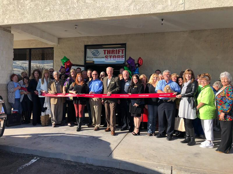 Ribbon Cutting – Boy & Girls Club Thrift Store
