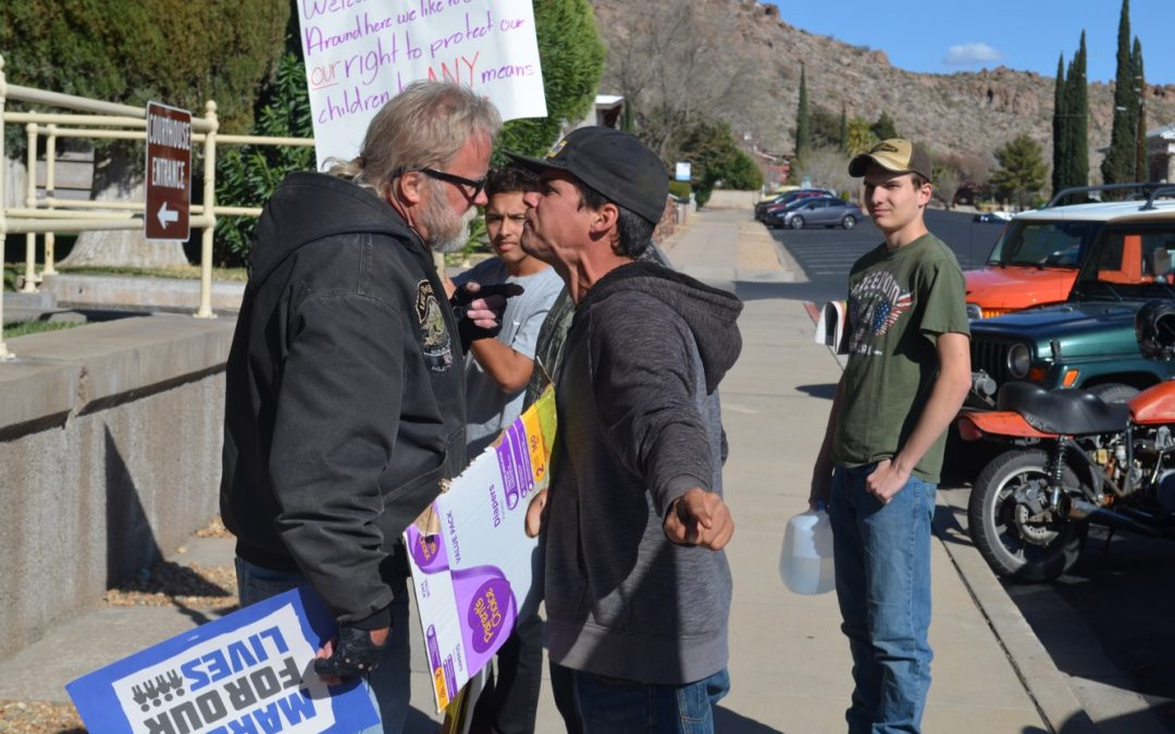 March For Our Lives Protests In Kingman