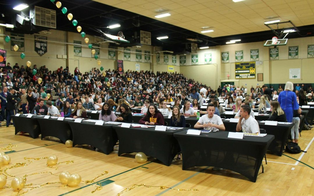 "MHS Seniors Take Part In ""Signing Day"""