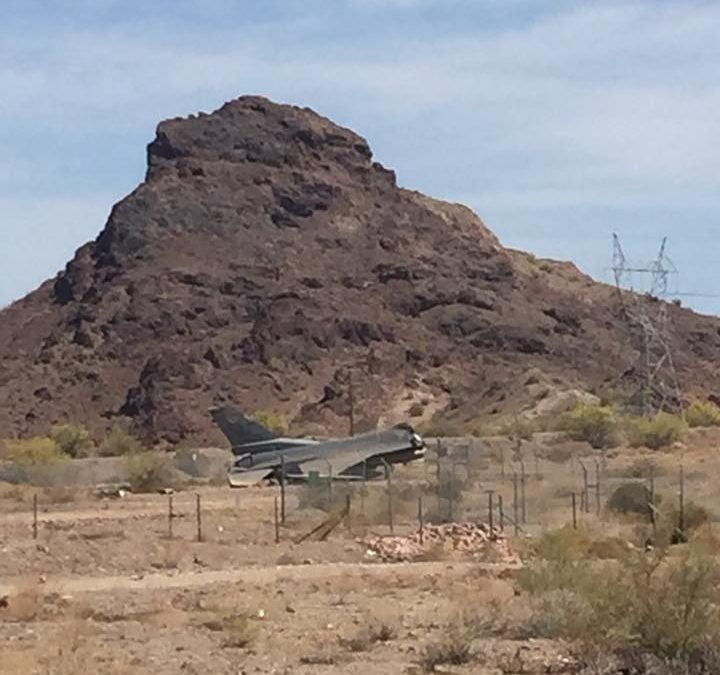 Fighter Jet Crashes In Lake Havasu City, Pilot OK