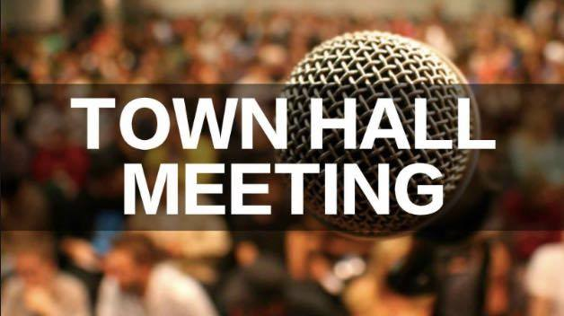 Town Hall Scheduled For Today