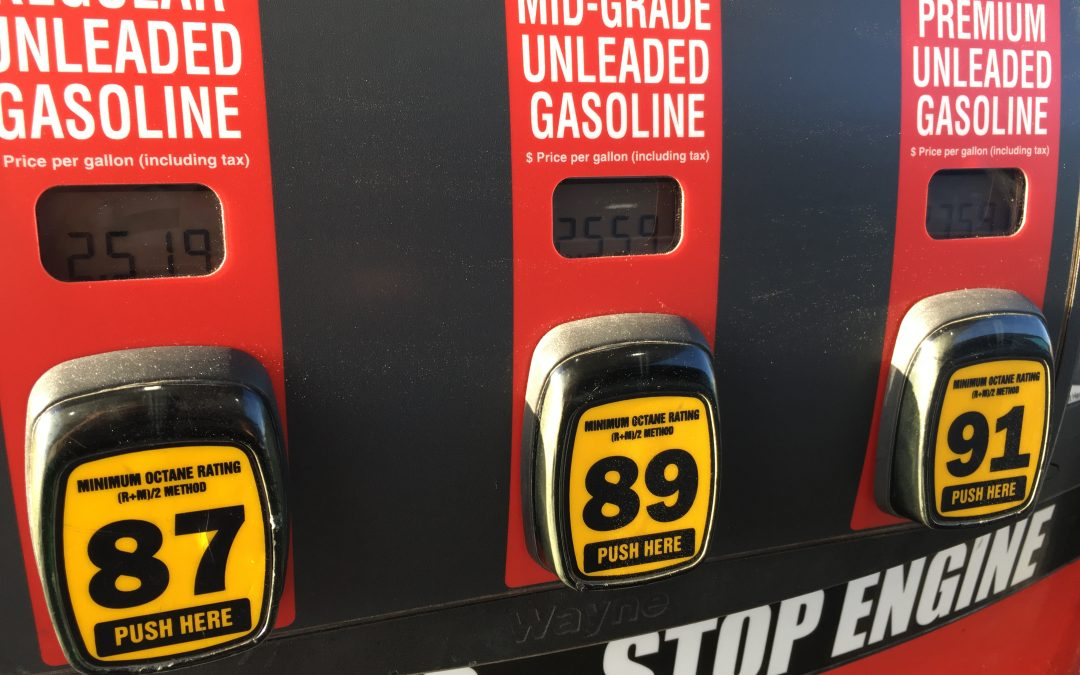Gas prices inch closer to $3 a gallon