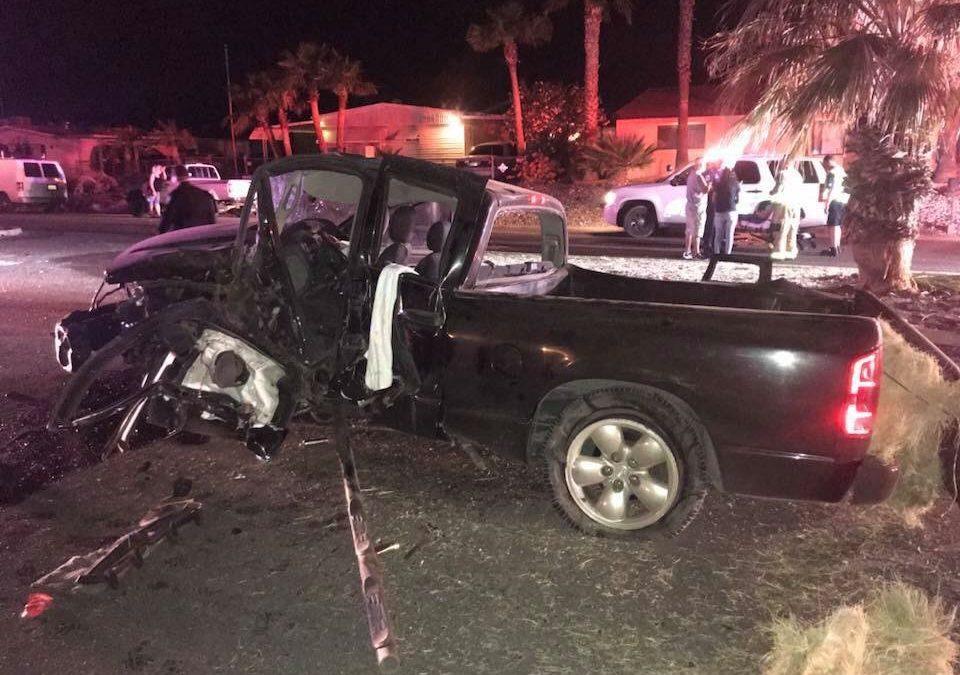 Crash Sends Four To Hospital
