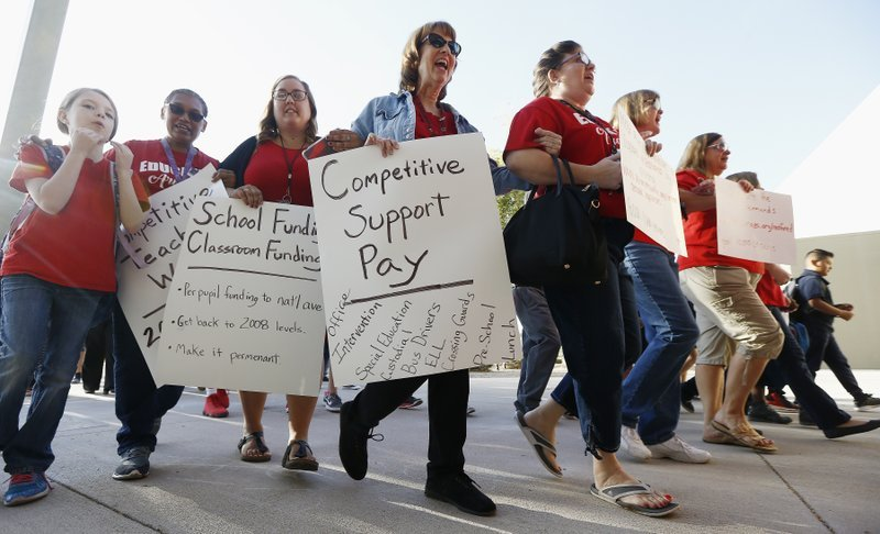 AZ House Proposal Could Boost Teacher's Pay 20 Percent