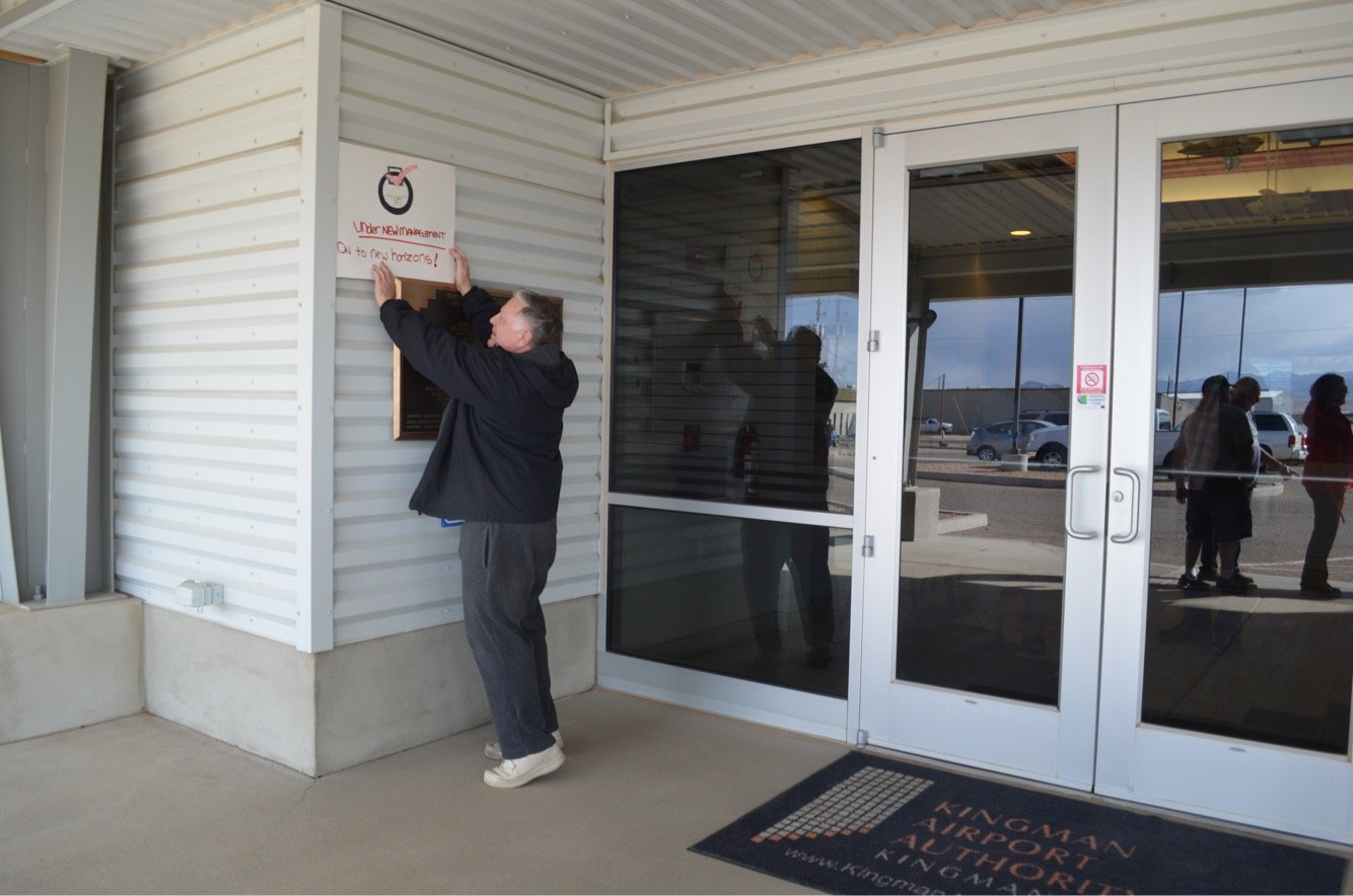 City of Kingman Officially Takes Control of Kingman Airport