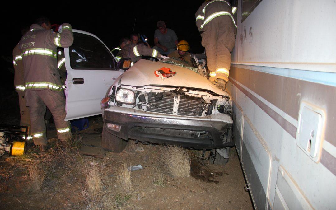 Teen Injured After Towed Motorhome Breaks Free