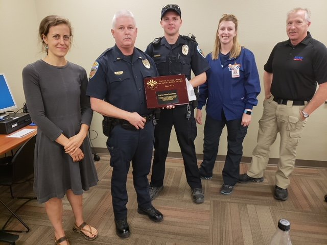 Kingman Police Receives Recognition For Narcan Program
