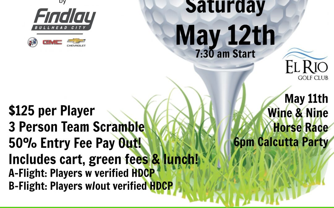 Space Still Available For Sponsors/Golfers At CHIP In Fore Kids Event