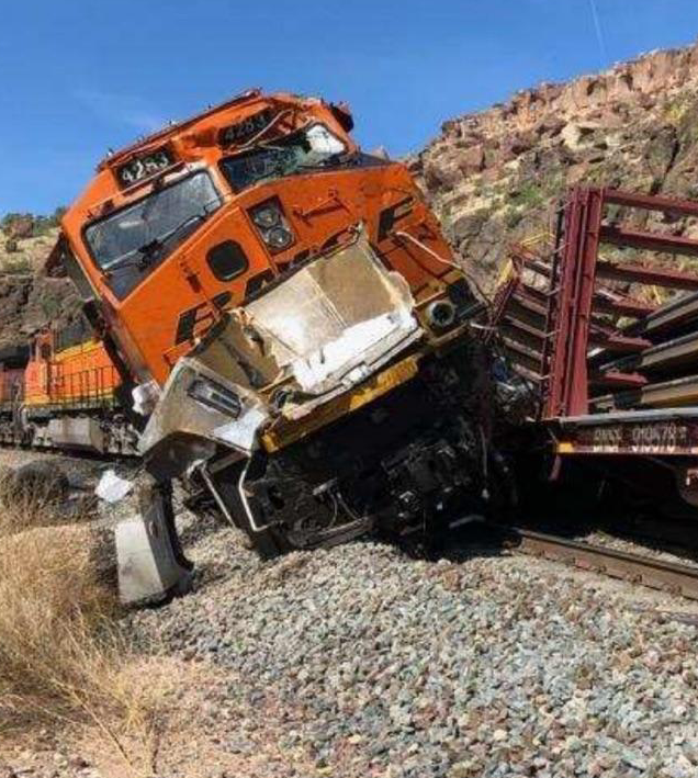 Train Crash Leaves One Dead, One Injured