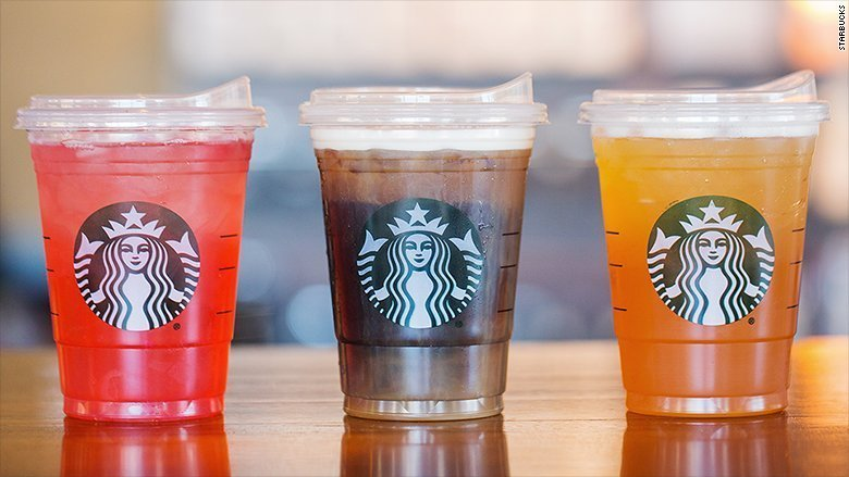 "Starbucks Unveils New ""Sippy"" Cup; Says Bye To Straws"