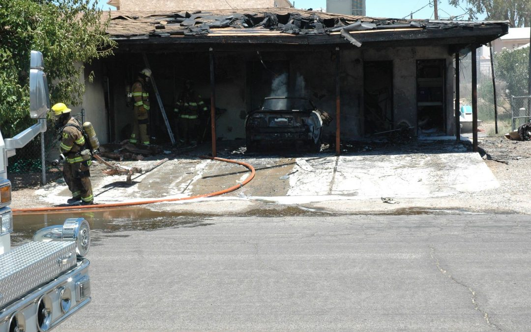 Vehicle Fire Spreads To Apartment Complex