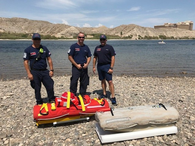 BHCFD Testing Out New Water Rescue Equipment