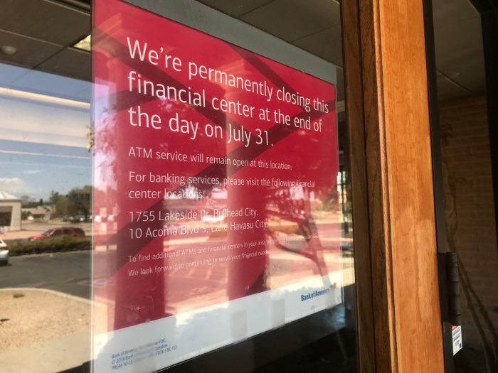 Another Kingman Bank Has Closed Its Doors