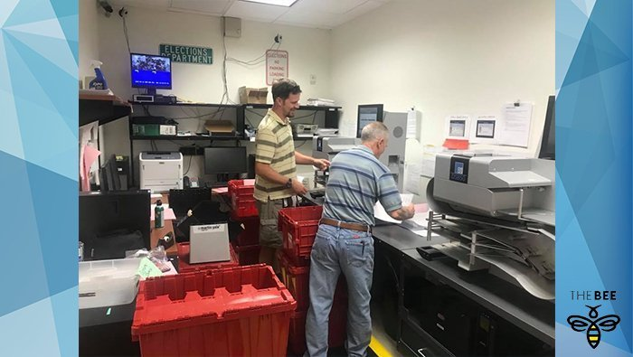 Election Officials Worked Through The Night Counting Results