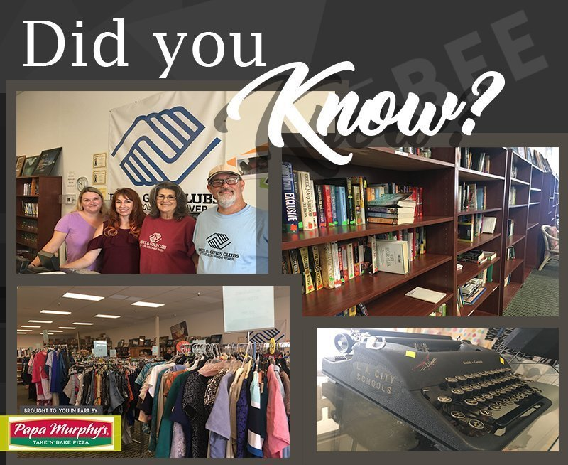 Did You Know–Boys & Girls Club of the Colorado River Thrift Store