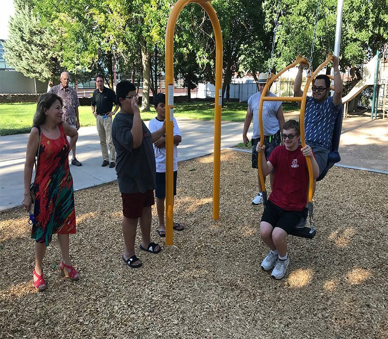 "Kingman Park Gets ""Expression Swing"" For Disabled"