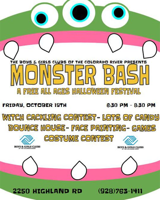 Monster Bash Fun At Boys & Girls Club