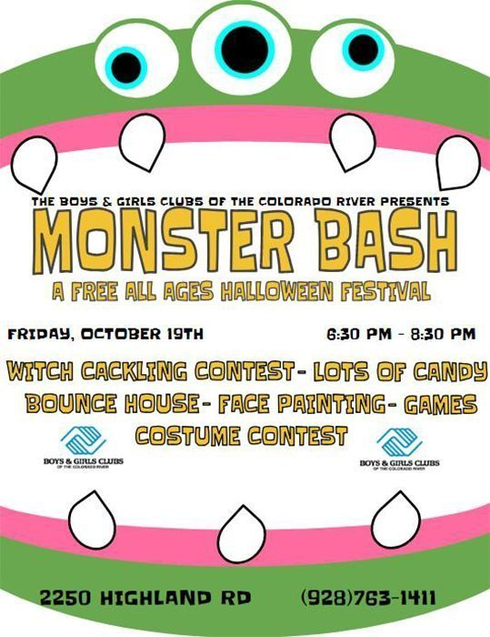 Monster Bash Fun At Boys & Girls Club