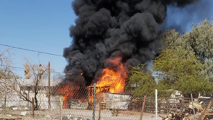 Fort Mohave Fire Deemed Suspicious After Second Fire In Four Days