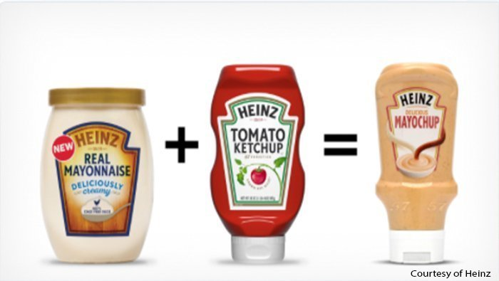 "Heinz Unveils ""Mayochup"" After Social Media Vote"