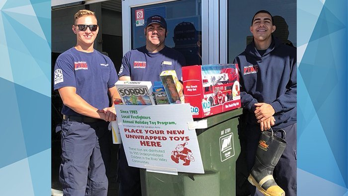 Firefighter's Holiday Toy Drive Celebrating 35 Years Of Bringing Christmas To Local Children