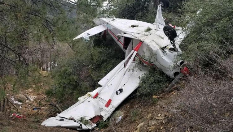 One Dead, One Injured In Kingman Plane Crash