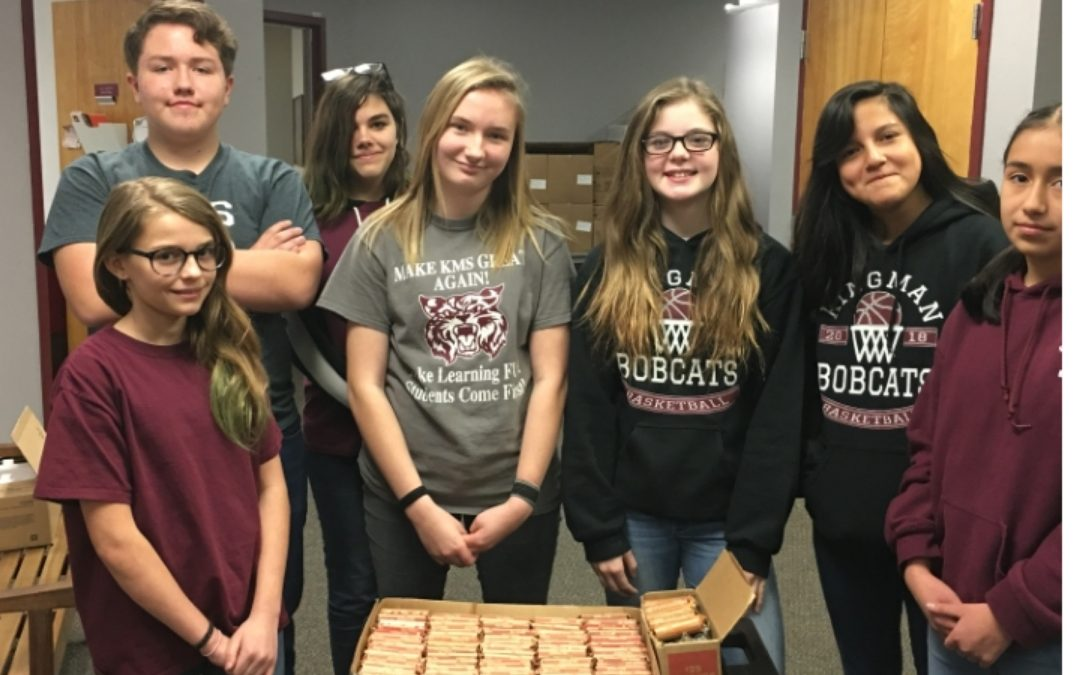 "KINGMAN – Middle School National Junior Honor Society's ""Penny War"" for WAHS."