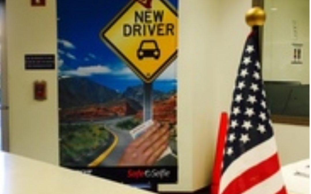 "ADOT – ""Safe Selfie"" area to promote ID protection for new drivers"