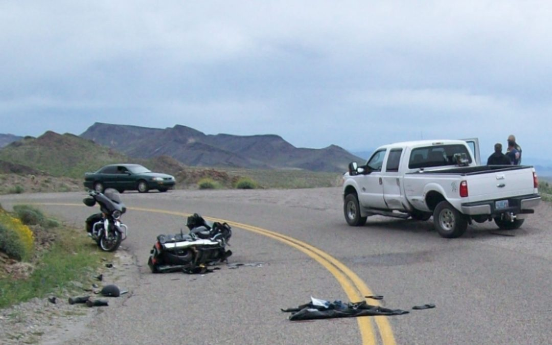 MOHAVE VALLEY- Motorcycle - Vehicle Collision - The Bee -The