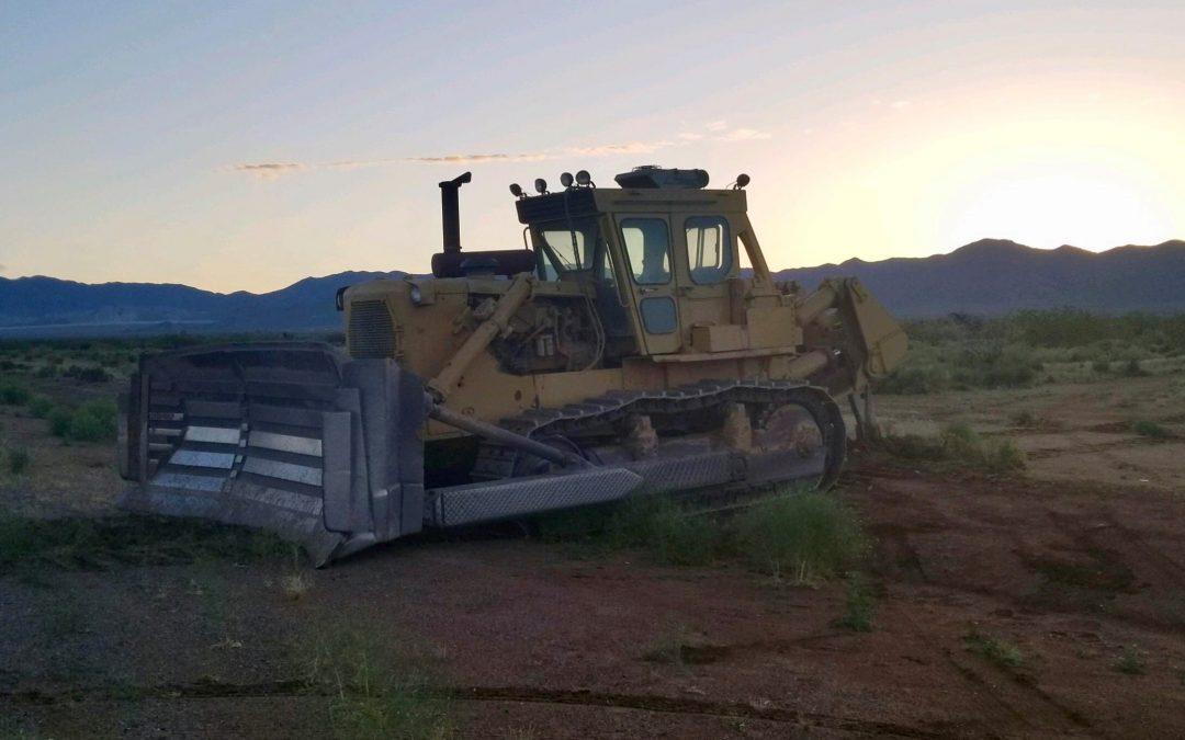 Bulldozer rampage lands man in jail