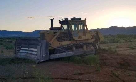 Bulldozer rampage lands man in jail