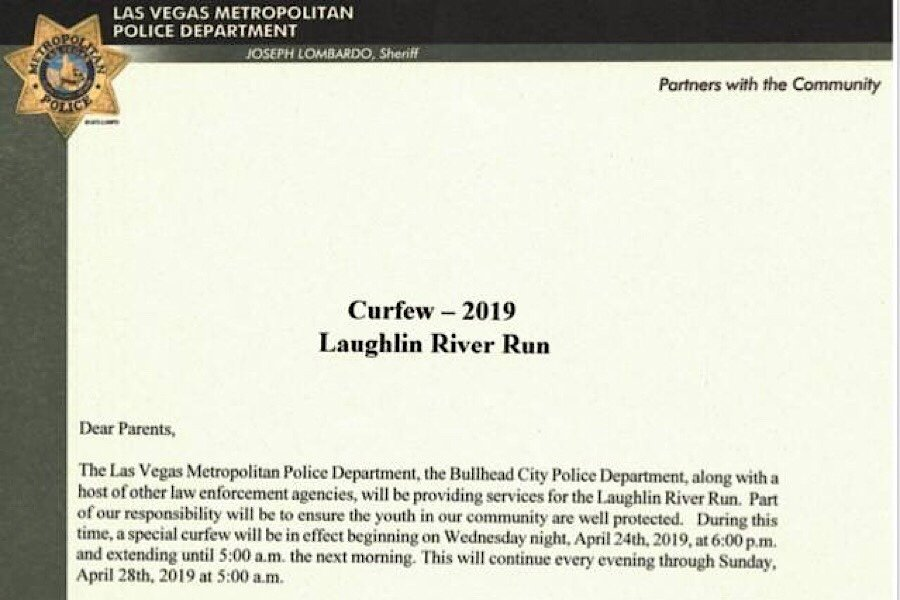 Curfew in effect through Sunday - The Bee -The buzz in