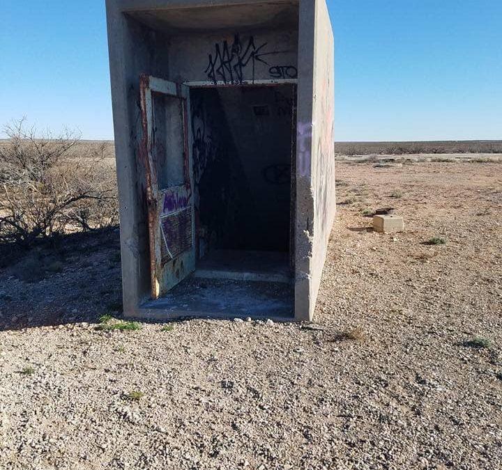 10-story underground abandoned missile silo near Roswell.