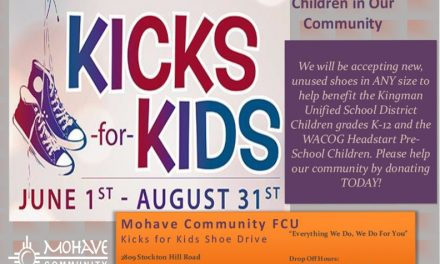 4th Annual Kicks for Kids Shoe Drive