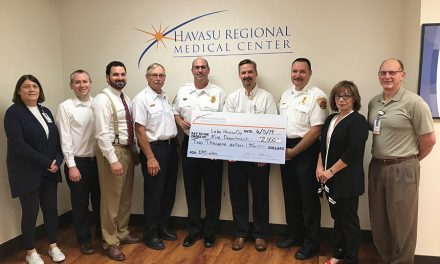 HRMC Celebrates 20th Anniversary of LifePoint Health with Donation to LHCFD