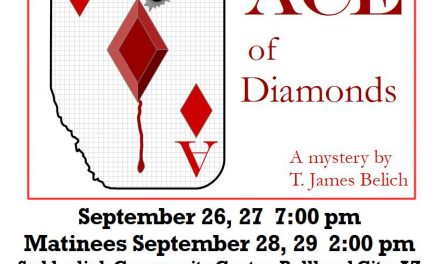 Ace of Diamonds River Cities Community Theater – 9/26-28