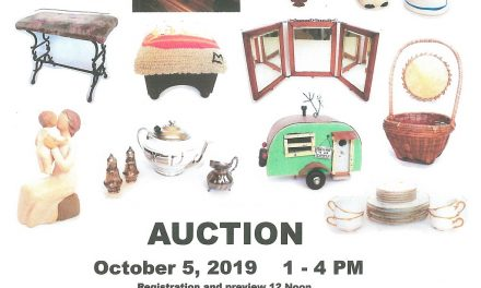 Auction happening at Hope United Methodist Church, 10/5 – BHC