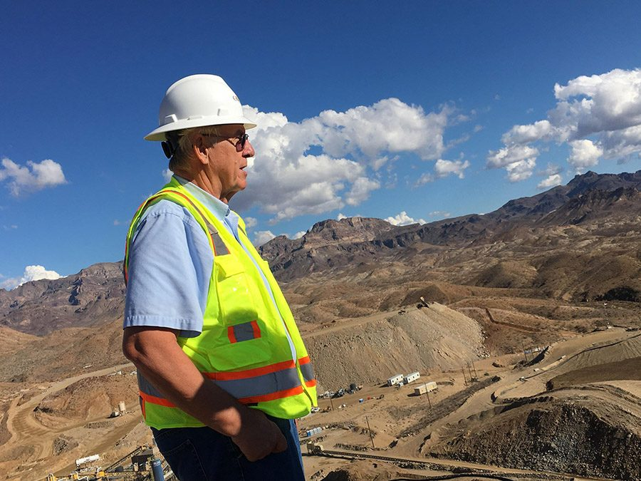 Mining operation digs in deeper