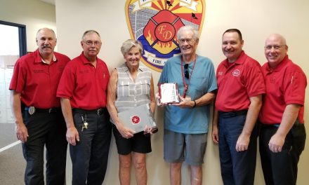 LHC Fire Dept News-Installation of our 500th Residential Knox® Box