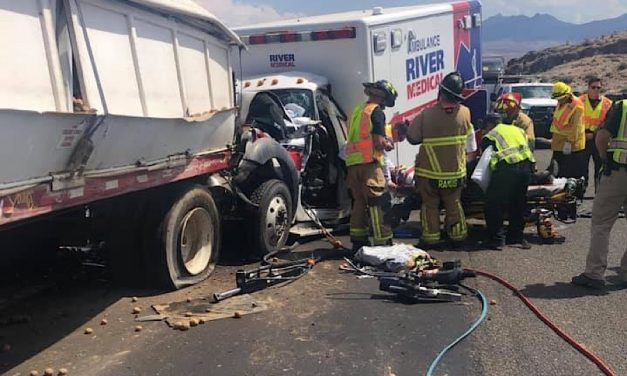 UPDATE: Injury Crash on Coyote Pass