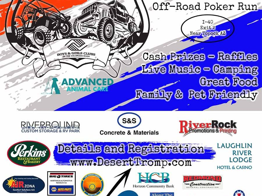 Boys & Girls Club Gearing Up for Off Road Poker Run in November