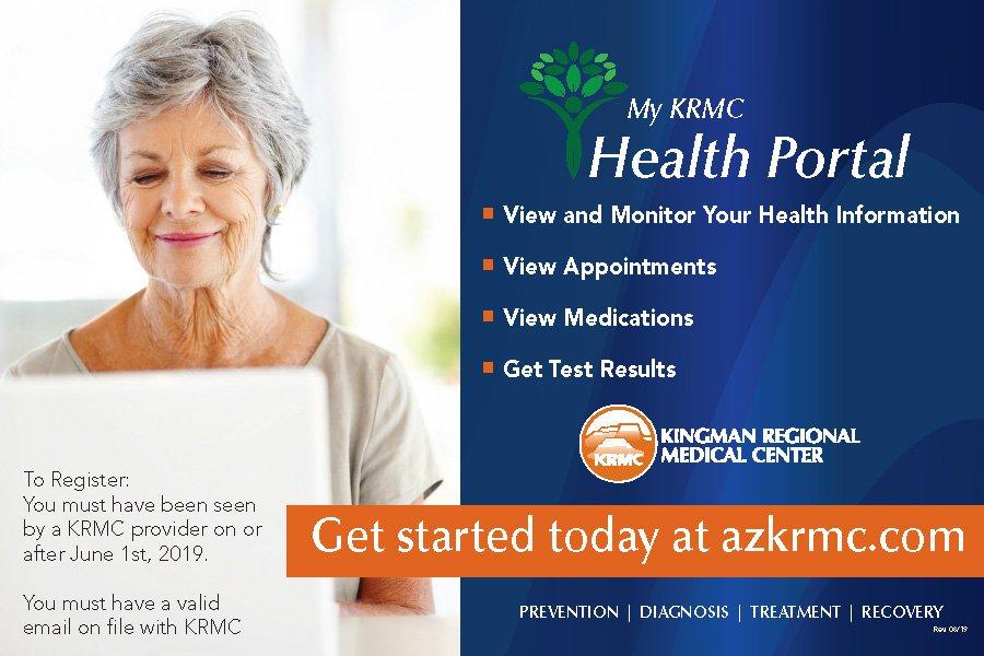 KRMC announces new patient portal