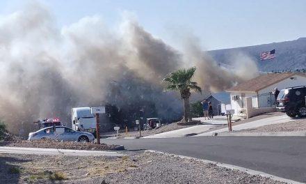 Fire in Bullhead City