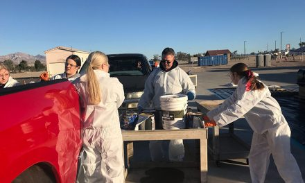 A great turnout at the Residential Household Hazardous Waste Collection day