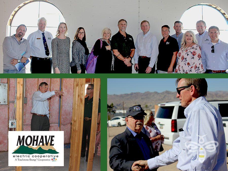 Gosar visits Bullhead City  veterans' homeless shelter