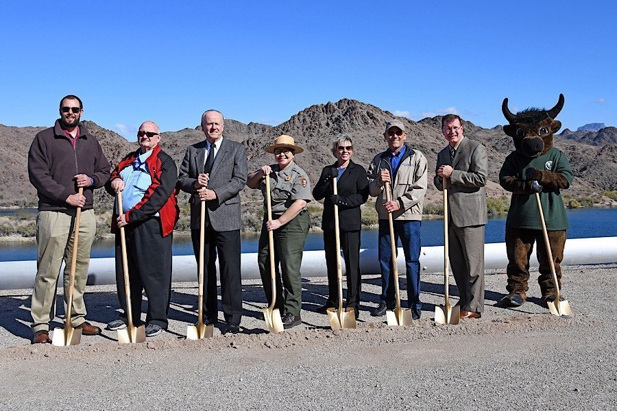 COLORADO RIVER HERITAGE TRAIL GROUNDBREAKING