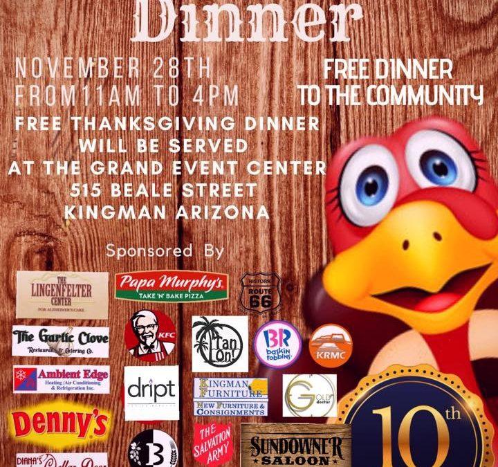 Garlic Clove's annual Free Thanksgiving Dinner